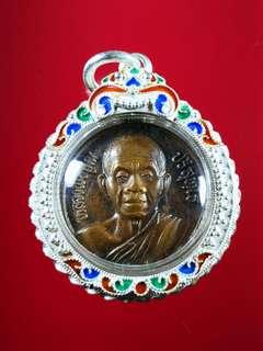 Thai Amulet lp koon 2539 Silver casing 925%