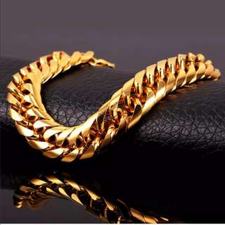Chunky American Style Gold Chain