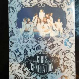 Girls Generation First Japan Tour [Limited Edition]
