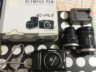 Pre-loved Olympus Pen E-PL2 Double Zoom Kit