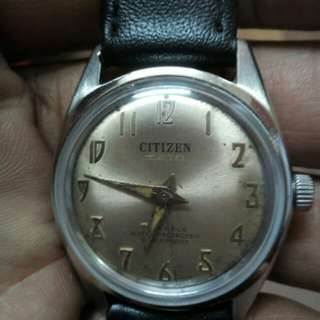 Citizen vintage 70s