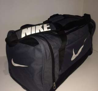 Black Nike Brasilia Duffel Bag