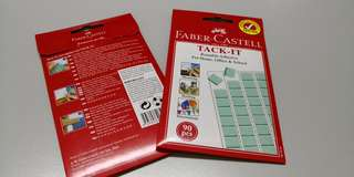 FABER-CASTELL TACK-IT reusable adhesive