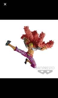 Doflamingo ONE PIECE SCultures BIG BANPRESTO FIGURE COLOSSEUM VI (Japan Edition) gold licence sticker official item japan shipped and sealed japan edition