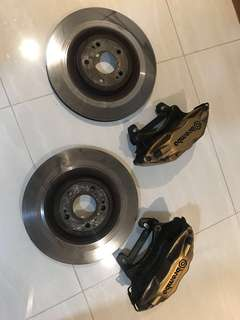 Brembo brake for Lancer EX 1.5 Front and Rear no swap