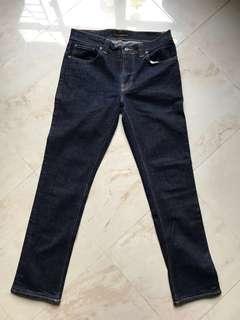 "Nudie Jeans 彈性牛仔䃿(實腰32"")  ( not Levi's ,  Evisu , Lee)"