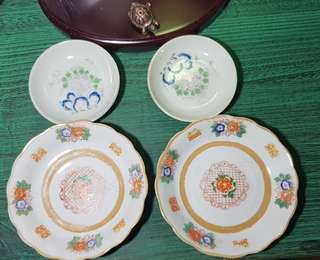Sales old plate x 4
