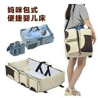 👶👜2 in 1 travel bed & bag for babies