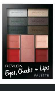 Revlon Seductive Smokies palette make up
