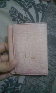 Ripcurl Pink Leather Wallet