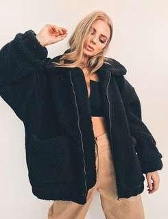 RENT XS I Am Gia Pixie Teddy Fur Coat