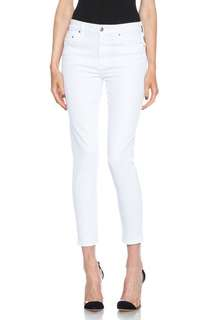 Citizens of Humanity Rocket Sculpt Cropped Optic White sz 24