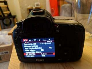 New Canon EOS 5D Mark iii