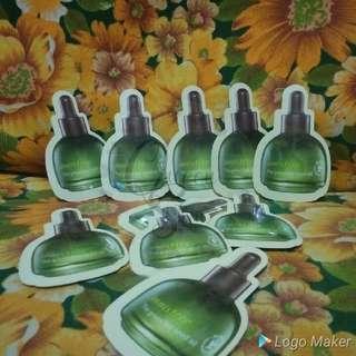 Green tea seed oil sampler sachet