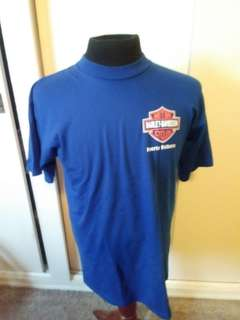4 vintage HARLEY DAVIDSON TEES for one price