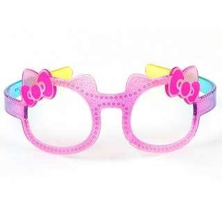 Hello Kitty 小朋友用眼鏡造型頭箍/髮飾