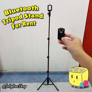 For Rent - Tripod Stand with Bluetooth remote  | Perfect for taking selfie photos
