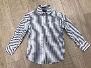 🚚 crewcuts 經典條紋男童襯衫
