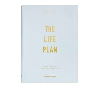 Bn kikki k kikki.k the life plan journal book notebook planner diary