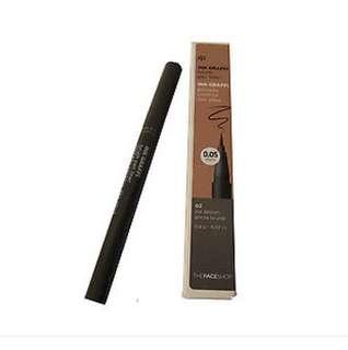 Faceshop brush eyeliner (brown)
