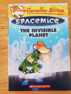 Geronimo Stilton Spacemice The invisible Planet
