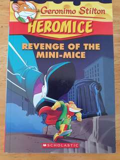 Geronimo Stilton Heromice Revenge of the Mini Mice