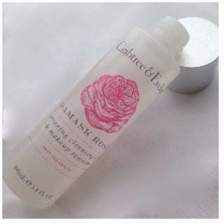 CRABTREE-EVELYN DAMASK ROSE SOFTENING CLEANSING OIL & MAKEUP REMOVER (100mL)