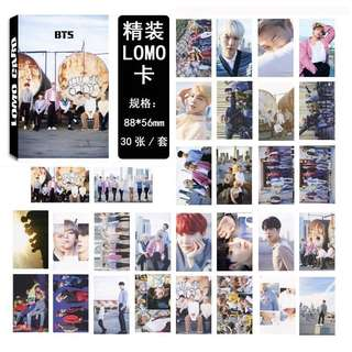 BTS x D-icon Vol.2 Magazine LOMO Cards