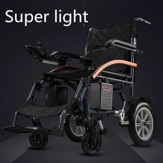 New automatic folding super lightweight electric wheelchair