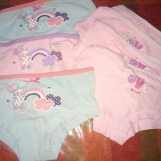Underwear for 2-4yo