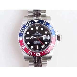 Rolex GMT Master II Pepsi Jubilee Bracelet ( Swiss Grade )