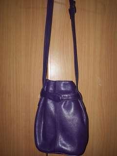 Mano genuine leather bucket bag