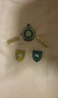School NCC pins (80')