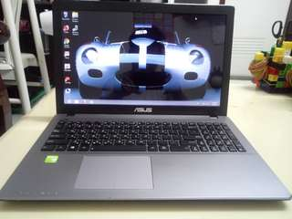 Asus Thin 15.6inch/win8/4Gb/500Gb hdd/2Gb Nvidia/Gaming