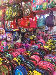 Trolley bag or bagpack for kids and teens