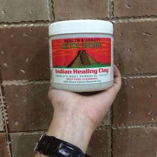Aztec indian healing clay 1tub(guaranteed authentic)