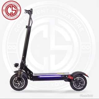 Dual Motors Escooter