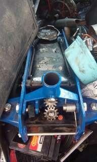 Hydraulic hand jack 2 ton