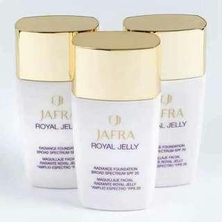 Jafra royal jelly foundation