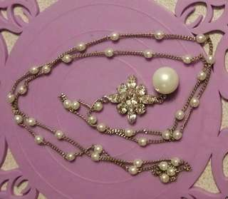 珠頸鍊(DIY)