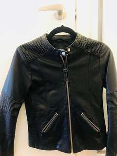 Mackage Leather Jacket (XS)