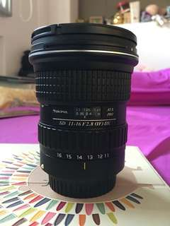 Tokina 11-16mm f/2.8 AT-X for Canon