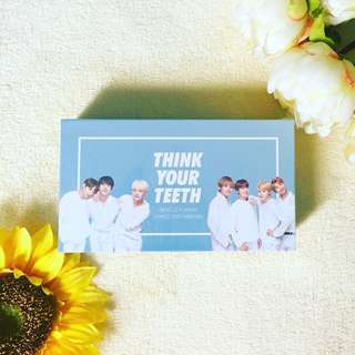 😬 VT x BTS Think Your Teeth Jumbo Kit WHITE🌼