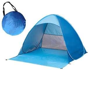 户外帳篷 沙灘帳篷 野餐帳篷 行山 露營 一拋即開 容易收納