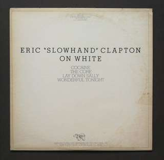 Eric Clapton original LP record audience promo