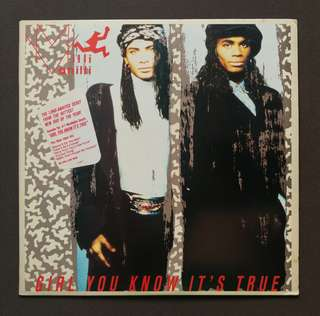 Milli vanilli George Michael wham mariah Carey original LP record