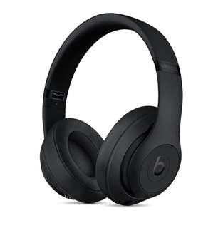 New Beats Studio3 wireless headphones