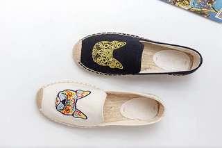 🔊專櫃🔊鬥牛犬編織草鞋 - 2色