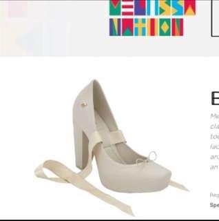 Authentic melissa heels