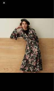 POMELO Printed Floral Outer / Dress
